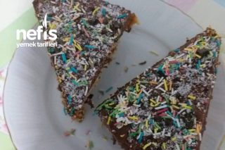 Pratik Kahveli Çikolatalı Pasta Tarifi