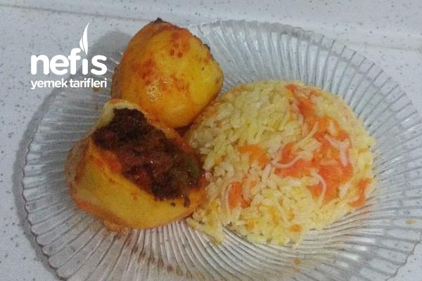 Patates Çanağında Ev Yemeği Tarifi