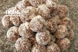 Artan Kek İle Çikolata Topları Tarifi