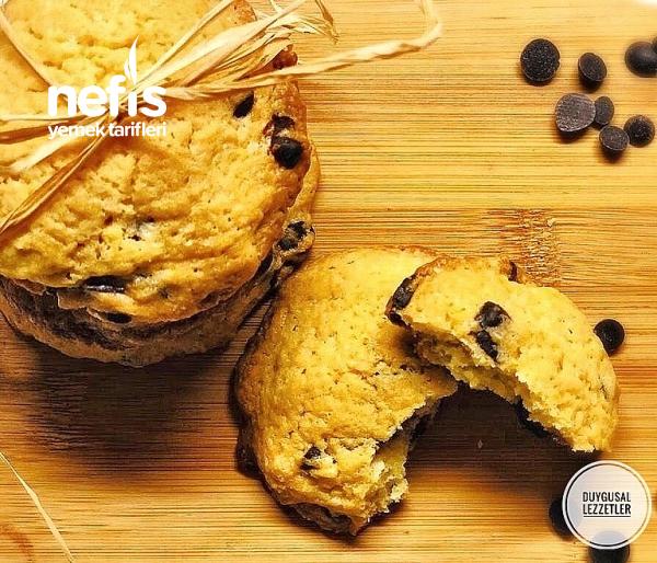 Chocolate Chip Cookies ( Parça Çikolatalı Kurabiye)