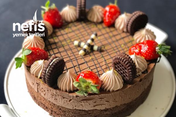 Çikolatalı Kolay Pasta (Videolu) (Despacito Pasta) Tarifi