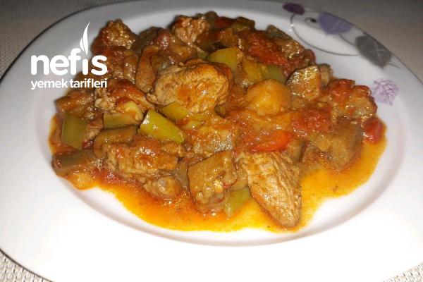 Etli Sote (Patlıcanlı) Tarifi