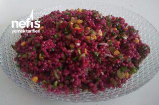 Rengarenk Şalgamlı Kuskus Salatası Tarifi