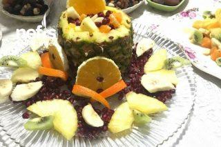 Şık Meyve Tabağı Tarifi