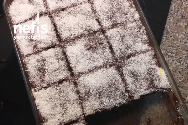 Çaylı Browni Kek Tarifi