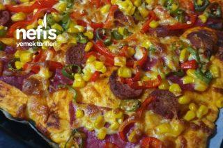 Fırın Hamuruyla Pizza Tarifi