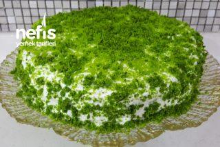 Fıstık Yeşili (Ispanaklı Pasta) Tarifi