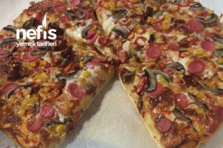 Tek Kelime İle Mükemmel Enfes Pizza Tarifi