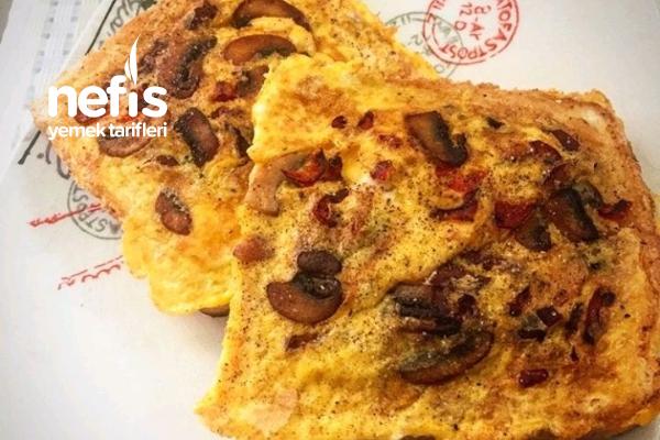 Tost Omlet Tarifi