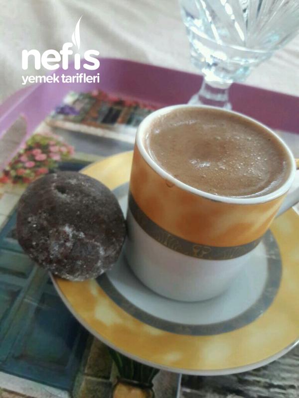 Kahve Yanı Topları 3 Malzemeli
