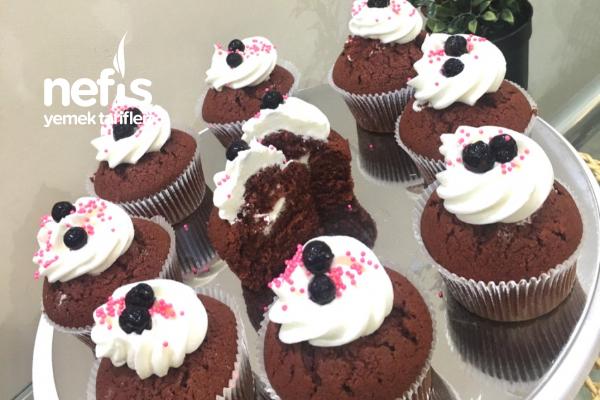 Kırmızı Kadife Cupcake Tarifi