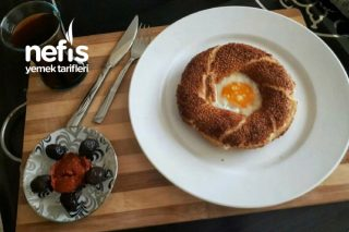 Yumurtalı Simit Tarifi