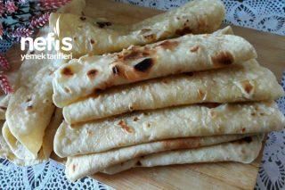3 Malzemeli Mayasız Lavaş Ekmekler Tarifi