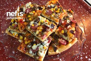 Muhteşem Sosuyla Pizza Tarifi