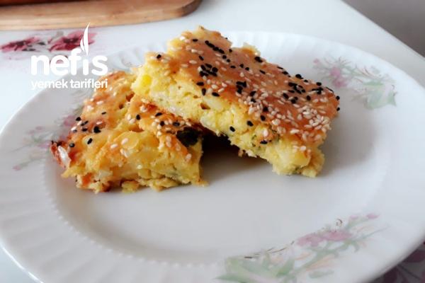 Patatesli Kek ( Börek Tadında ) Tarifi