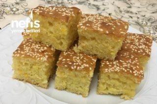 Yumuşacık Limon Portakal Aromalı Sünger Kek (Anne Keki) Tarifi
