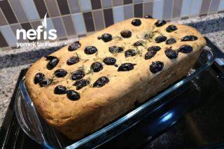 Zeytinli Kekikli Akdeniz Ekmeği : Focaccia Tarifi