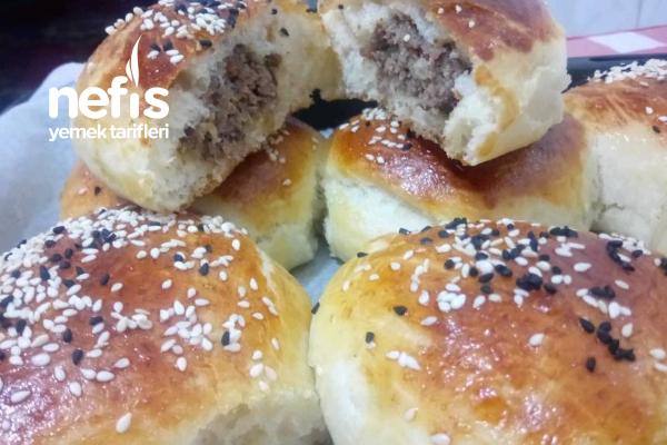 Hamburger Tadında Köfteli Poğaça (Videolu) Tarifi