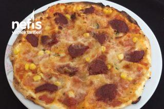 Lavaş Pizza (10 Dk ) Tarifi