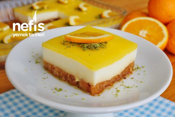 Tam zamanı! Portakallı Etimek Tatlısı (videolu) Tarifi