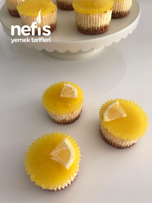 Porsiyonluk Limonlu Cheesecake