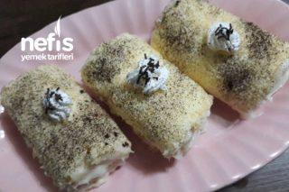 Porsiyonluk Muzlu Rulo Pasta Tarifi