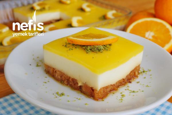 Portakallı Etimek Tatlısı Tarifi (videolu)