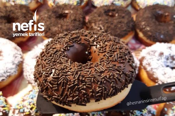 Donut (İçine Yağ Çekmeyen) Tarifi