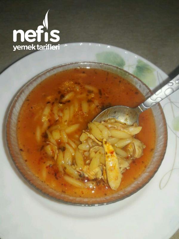 Tavuklu Şehriye Çorbası(şifa Deposu)