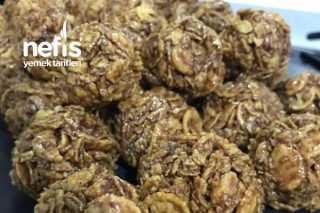 Çikolatalı Mısır Gevreği Topları Tarifi