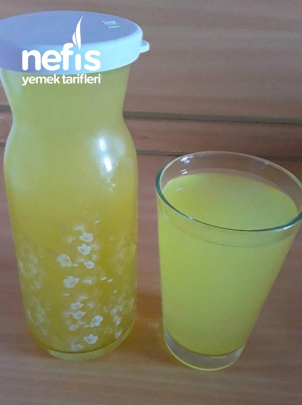 Çok Pratik Ve Lezzetli Limonata( Bu Tarifle Herkes Limonata Yababilecek)