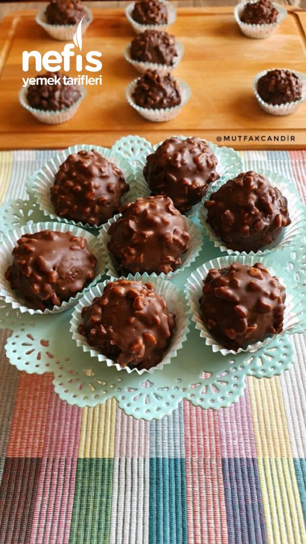 Ferrero Çikolata (4 Malzeme İle)