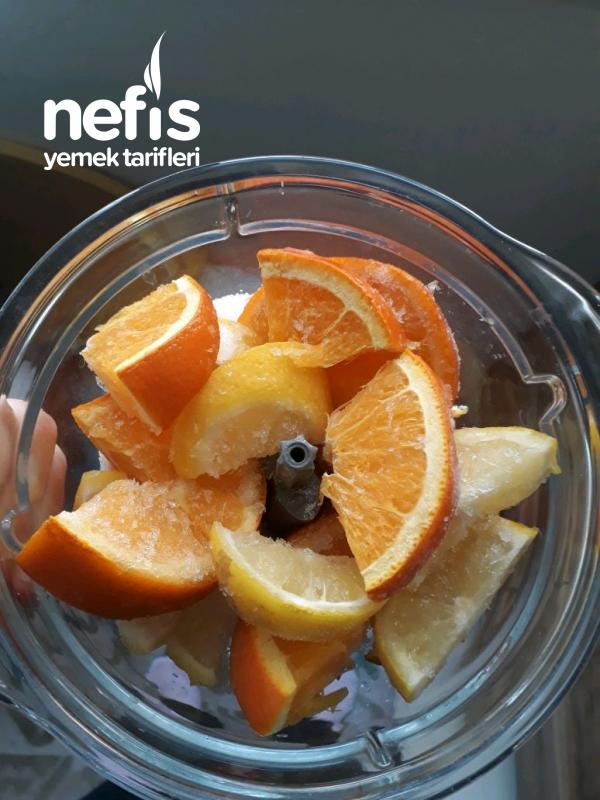 Kolay Ev Yapimi Limonata (2 portakal 1 limon)