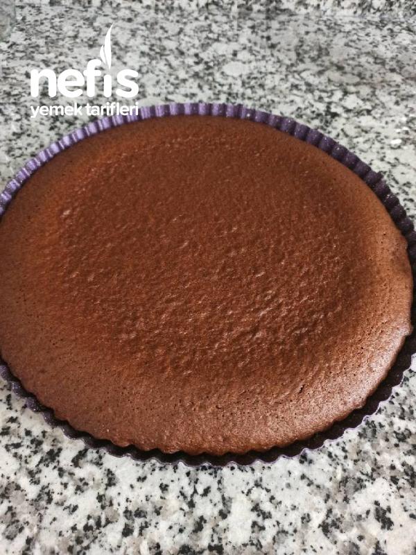 Tart Kalıbında Kremalı Kek