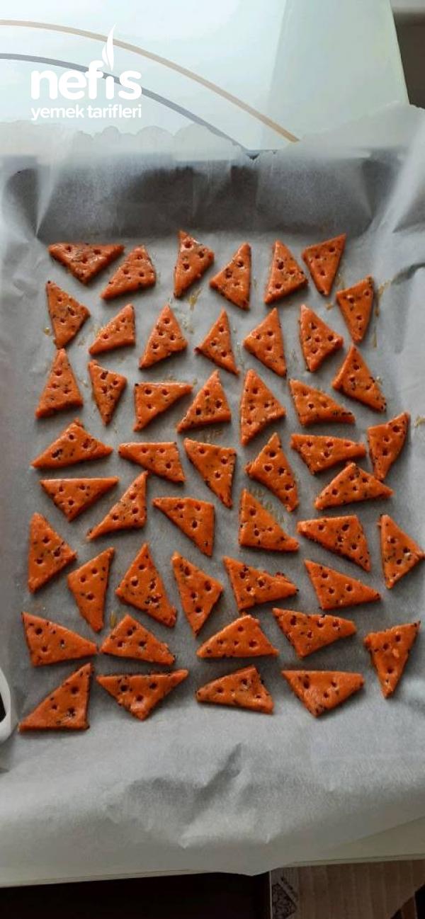 Üçgen Pizza Kurabiye