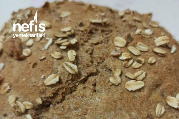 Yulaflı Tam Buğday Ekmeği Tarifi
