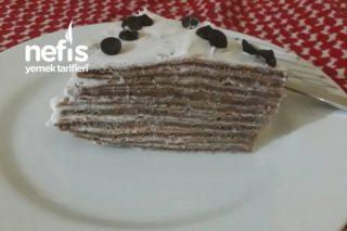 Çikolatalı Krep Kek (Pasta) Tarifi