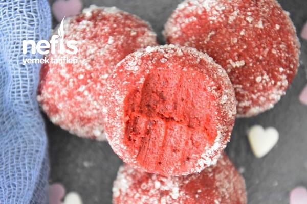 Kırmızı Kadife Toplar (Sevgililer Gününe Özel) Tarifi
