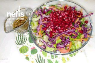 Narlı Diyet Karışık Salata Tarifi