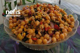 Nohut Ve Zeytin Salatası Tarifi