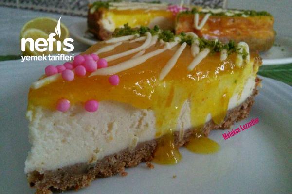 Yedikçe Yediren Limonlu Cheesecake Tarifi