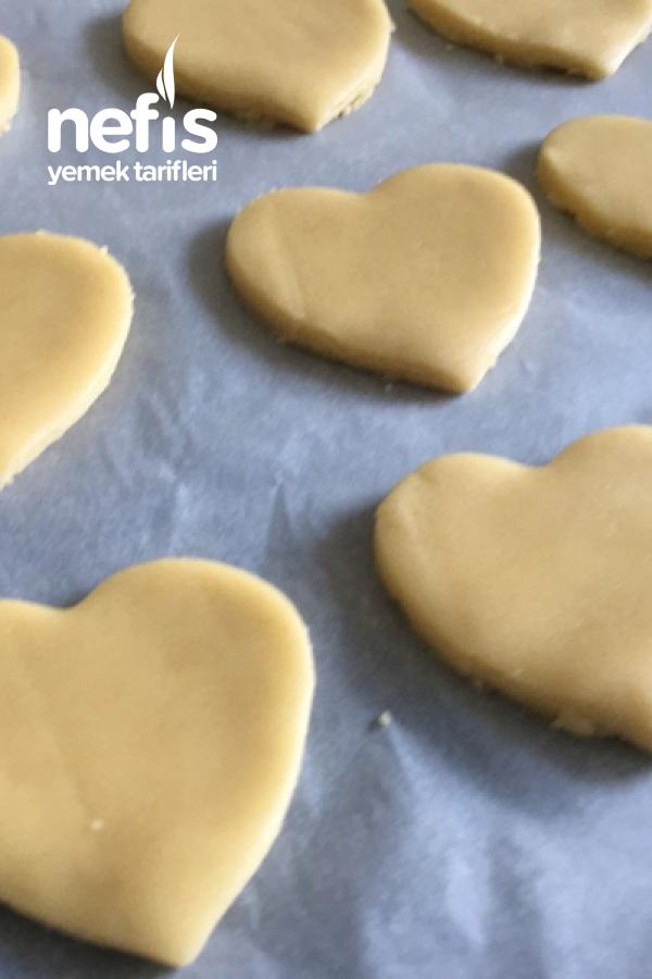 Çikolatalı Kalpli Kurabiye ️ Sevgililer Günü Özel (Videolu)