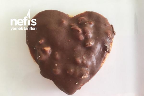 Çikolatalı Kalpli Kurabiye ️ Sevgililer Günü Özel (Videolu) Tarifi