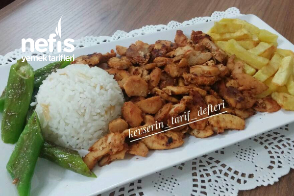Ev Yapımı Tavuk Döner (Sabah Hazırlayın Akşam Pişirin) Tarifi