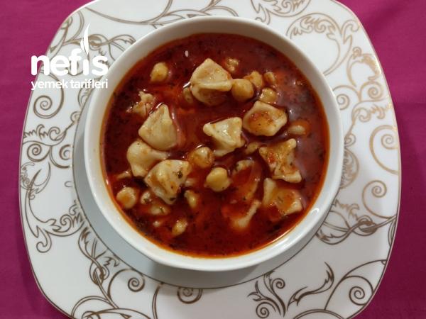 İster Çorba İstersenizde Ana Yemek Olarak Yapabileceğiniz Yapımı Kolay Yüksük Çorbası
