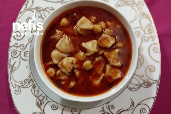 İster Çorba İstersenizde Ana Yemek Olarak Yapabileceğiniz Yapımı Kolay Yüksük Çorbası (Videolu) Tarifi