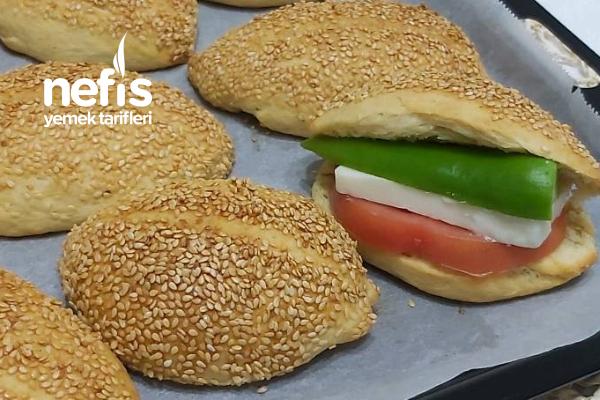 İzmir Kumru Ekmeği  Ev Yapımı Yumuşacık Tarifi