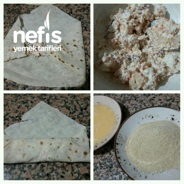 Peynirli Sucuklu Avcı Böreği çıtır çıtır içi yumuşacık