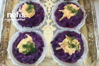 Renkli Patates Salatası Tarifi