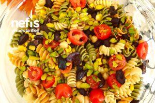 Baklagilli Makarna Salatası Tarifi